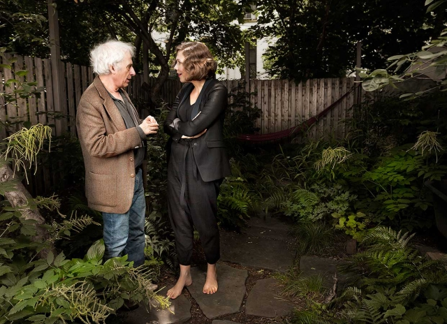 Maggie Gyllendaal and Austin Pendleton