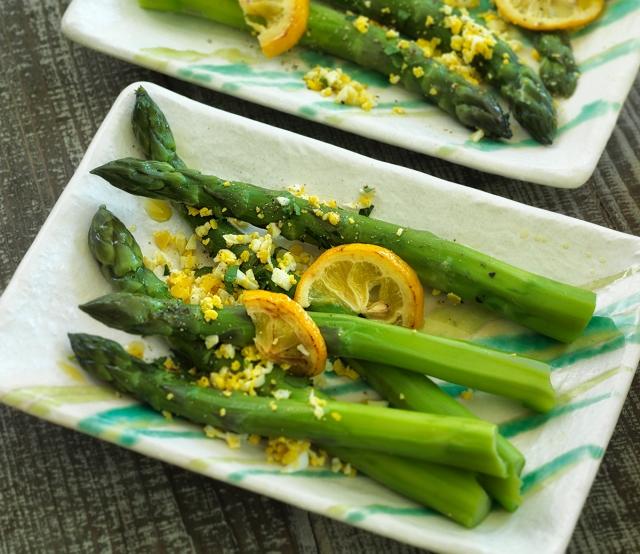 asparagus mimosa