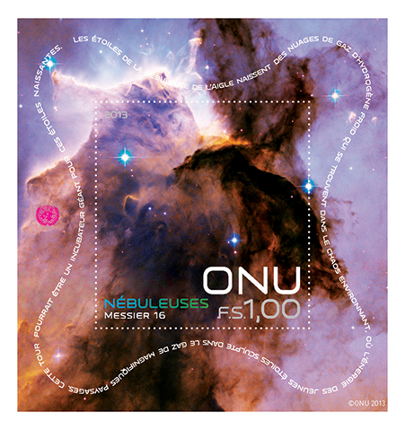UNPA Space Souvenir Sheets 2013 Geneve