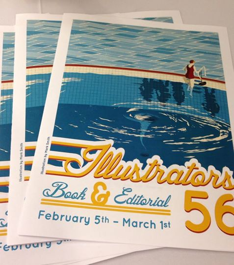 Society of Illustrators Book & Editorial 56 Program Cover Illustrated by Mark Smith
