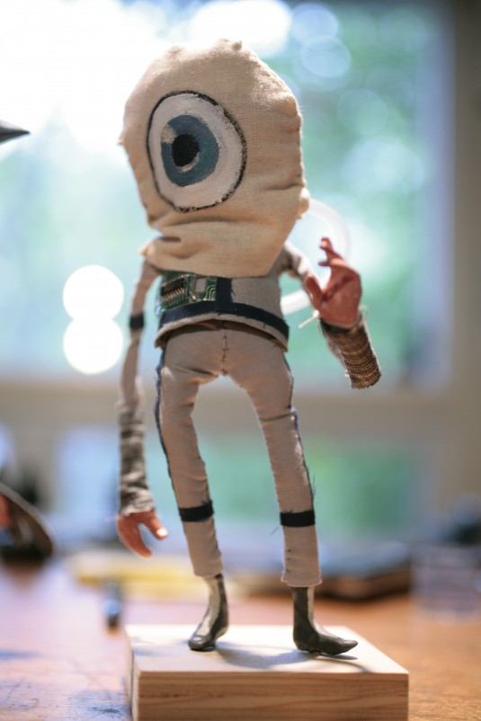 """Cyclops"" Puppet Created by Red Nose Studio"