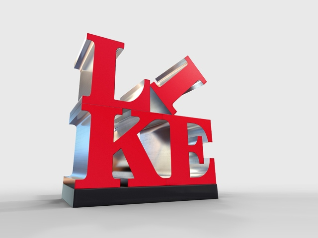 Raygun Studio - LIKE 3D Type