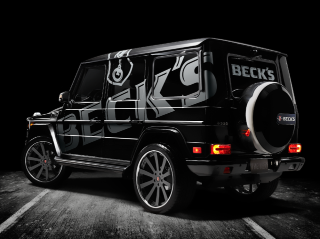 Beck's G Wagon - Rear