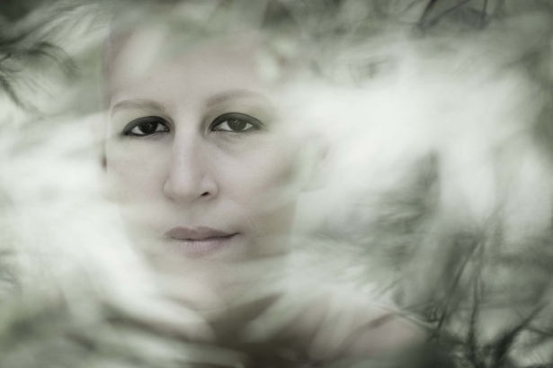 Portrait of a young women battling cancer