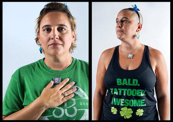 Lisa Sanders, shaving for Rayley. @ Ali Smith