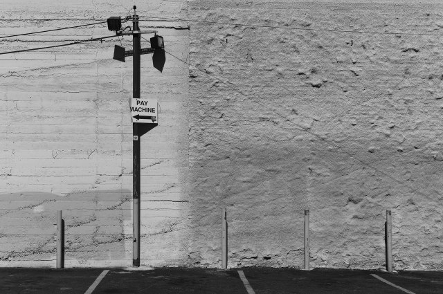 Joe's Parking Lot.  Downtown Los Angeles. ©Simon Puschmann