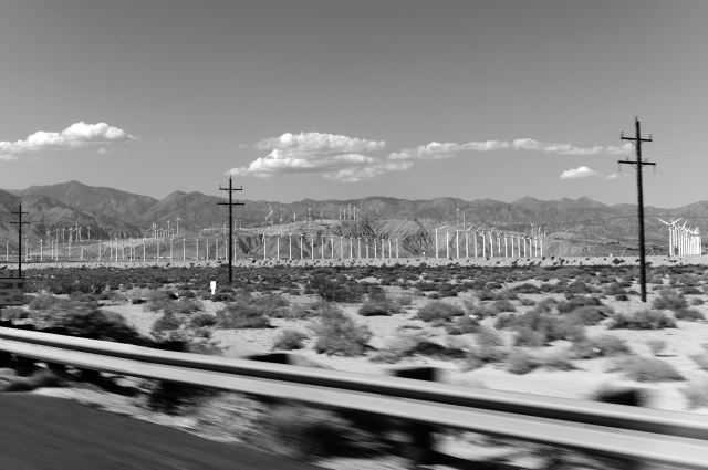 Between Palm Springs and Morongo, CA. ©Simon Puschmann
