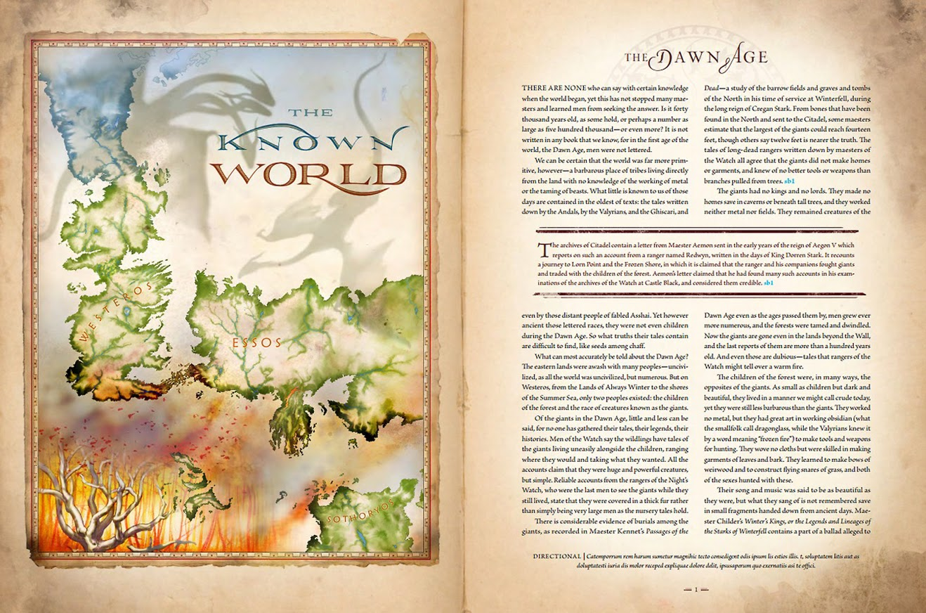 Michael Gellatly Illustrates Maps For George R R Martin S World Of
