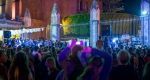 Celebrating in the City Square
