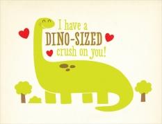"""©Chad Geran -""""Dino Sized Valentine"""""""