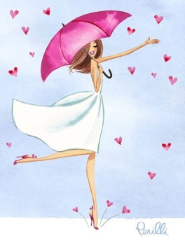 "©Marilena Perilli - ""Valentine Girl"""