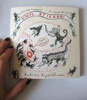 ©Katrina Kopeloff - Sticker - http://etsy.me/1TaadEq