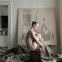 """©Kristofer Dan- Bergman - """"Dance"""" - Body shoot at 10E16th St, NYC Maria Bruun"""