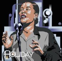 """©Garth Glazier - """"Billie Holiday"""""""