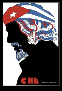 """©Ivan Canu - """"Che Guevara"""" - Paolo Mieli's The Story of Communism - Client: Centauria Publisher"""