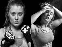 ©Keith Barraclough -Portraits of athletes against black