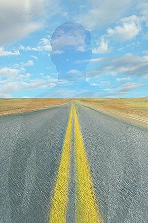 "©Barbara Kosoff - ""Signs on the Road of Life"""