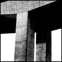 """©Brian Smale - """"Concrete Bridge Support"""""""