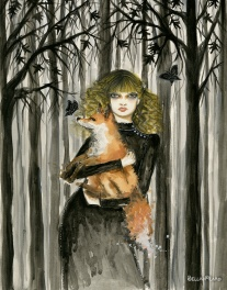 """Fay and the Fox"" ©Bella Pilar"