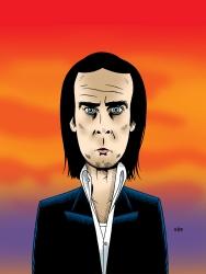 """""""Nick Cave"""" ©Doug Erb"""
