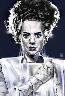 """""""Bride of Frankenstein"""" ©Garth Glazier"""