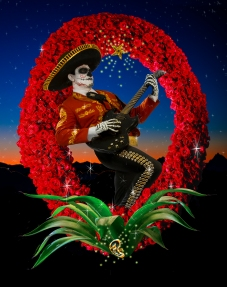 """Mariachi Calavera ©Kate Turning"