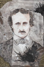 """Edgar Allan Poe"" ©Janice Fried"