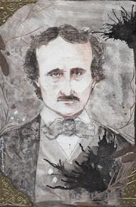 """""""Edgar Allan Poe"""" ©Janice Fried"""