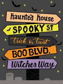 """Spooky Street"" ©Ilana Griffo"
