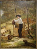 At_the_Well_by_William_Sidney_Mount,_1848,_oil_on_board_mounted_on_panel_-_New_Britain_Museum_of_American_Art_-_DSC09323