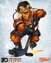 "©Brian Allen/Flyland Designs ""The Philadelphia Flyers Mascot"""