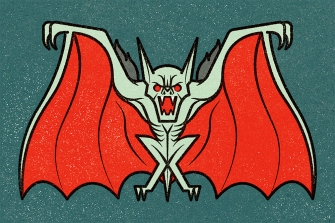"""Vampire Bat"" Illustrator ©Alexei Vella"