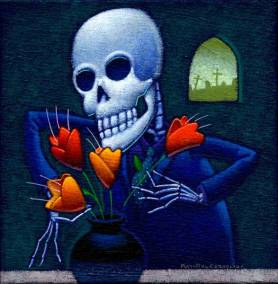 """The Florist"" Illustrator ©Ray-Mel Cornelius"