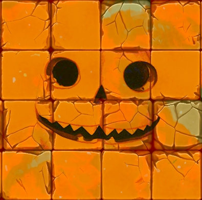 """Jack-O-Lantern Face"" Illustration ©Jim Cohen"